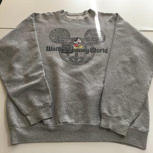 Disney Parks Walt Disney World Sweatshirt Mickey L